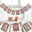 1-3-years-Banner-Garlands-Bunting-Baby-Shower-Birthday-Party-Decor-Photo-Props thumbnail 8