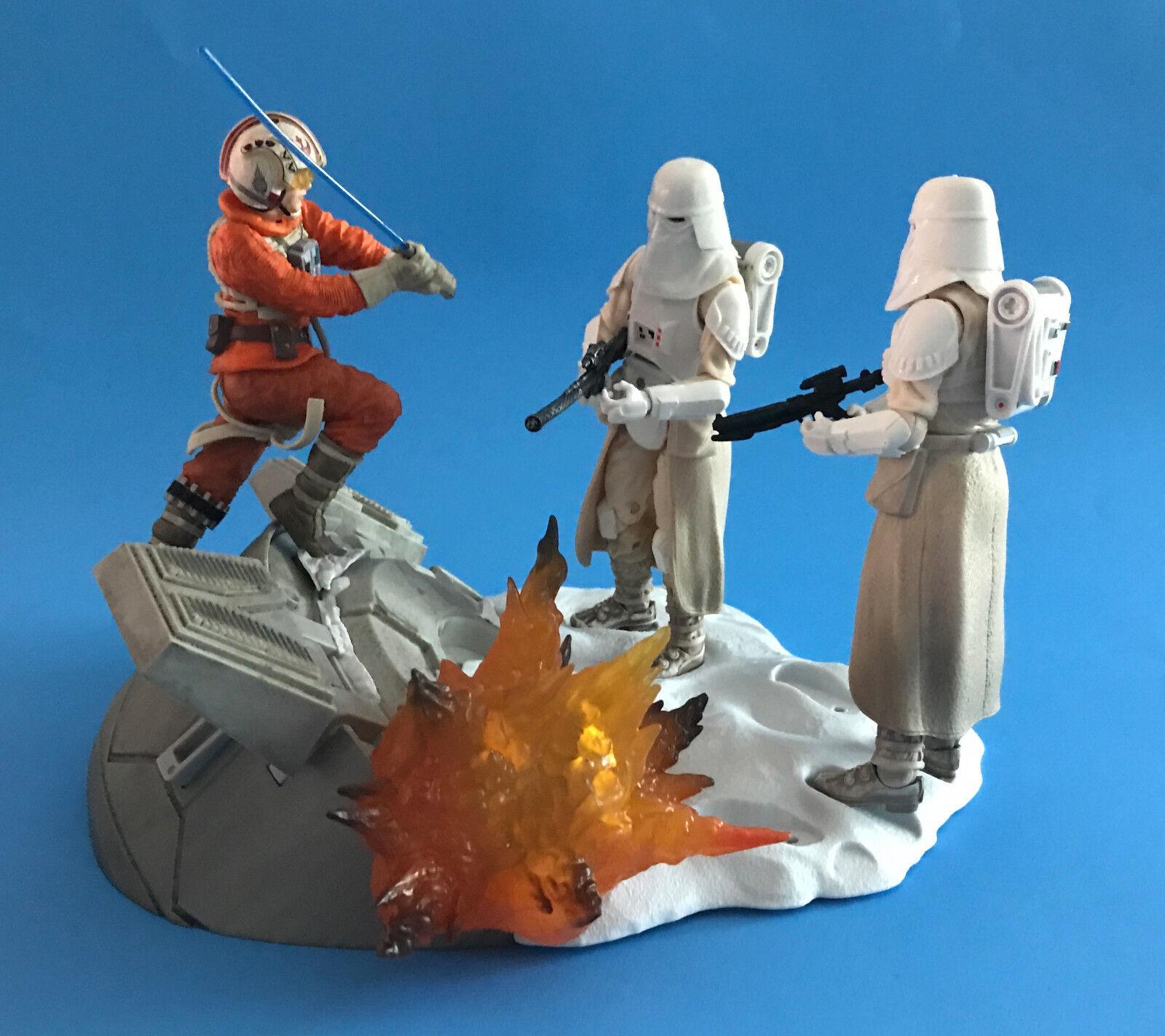Venta en línea de descuento de fábrica Estrella Wars Serie Negra Centro Skywalker Luke & Hoth Hoth Hoth STORMTROOPER'S 15.2cm  ¡No dudes! ¡Compra ahora!
