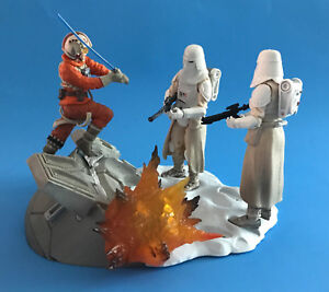 Centre de table Star Wars Série Noire Skywalker Luke & Hoth Homme Stormtrooper