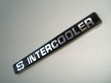 ~SUPER COOL~> S INTERCOOLER Emblem CHEVY FORD MAZDA TOYOTA NISSAN KIA HYUNDAI