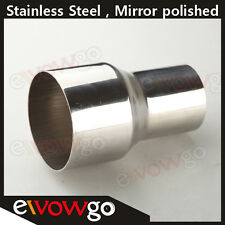 """2.5"""" TO 3"""" INCH WELDABLE TURBO/EXHAUST STAINLESS STEEL REDUCER ADAPTER PIPE"""
