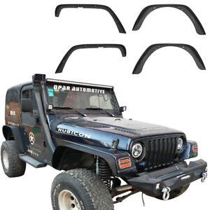 4Pcs-Steel-Front-amp-Rear-Fender-Flares-for-1997-2006-Jeep-Wrangler-TJ-amp-Unlimited