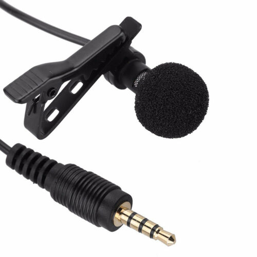 PC Gifts Neu Clip-on-Revers Krawatte Mini Lavalier-Mikrofon für Handy