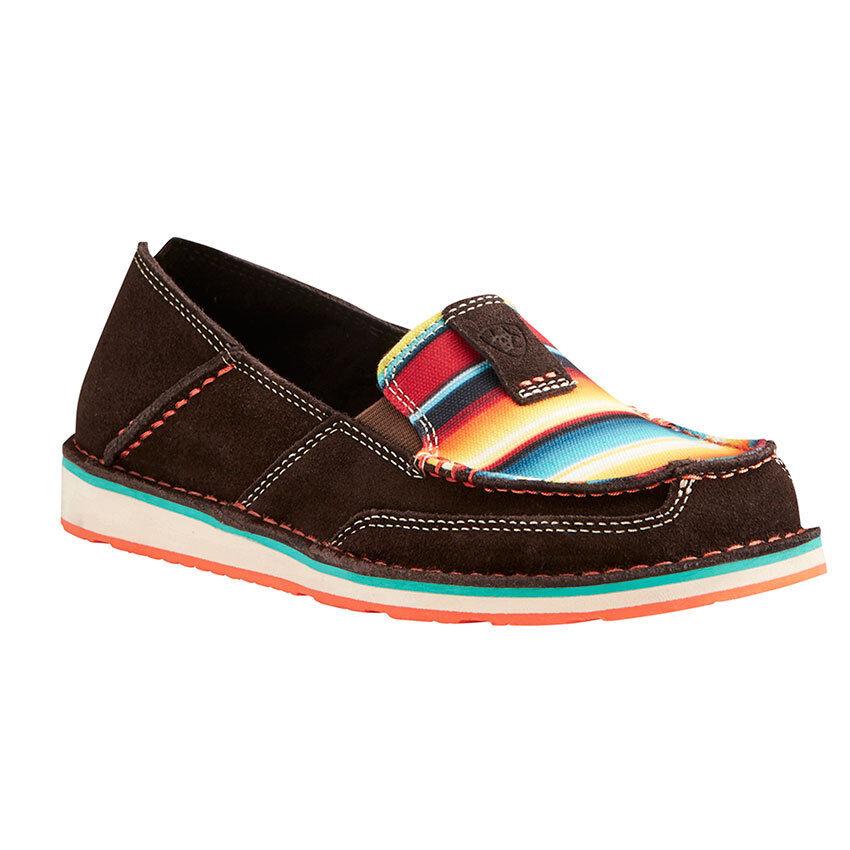 Ariat Mujer Chocolate con con con sarape Cruiser Zapatos 10021153 tan cómodo & Lindo  colores increíbles