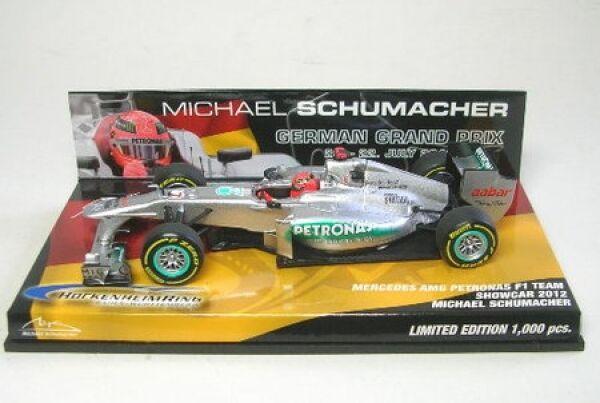 Mercedes AMG F1 No. 7 M.SCHUMACHER Hockenheimring Showcar 2012