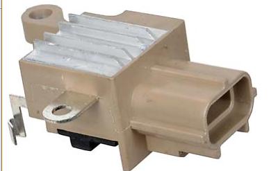 ALTERNATOR VOLTAGE REGULATOR BRUSH HOLDER BRUSHES FOR FORD F250 F450 F550 6.4L