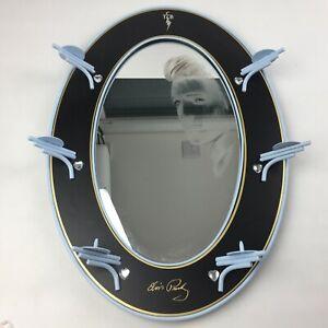 Reflections-of-Elvis-Presley-Collectable-Display-Mirror-Bradford-Exchange-RARE