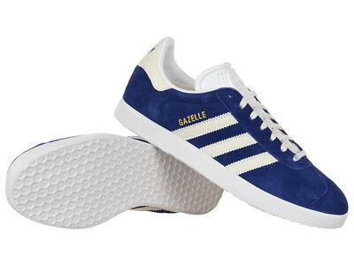 adidas Originals Gazelle Trainer Schuh Herren Damen Wildleder Sneaker Blau | eBay