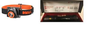LED LENSER P7 (2018) + DMAX Buddy DX Kopflampe