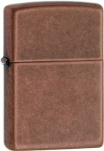 Zippo-Lighters-ANTIQUE-COPPER-Lighter-301FB-NEW