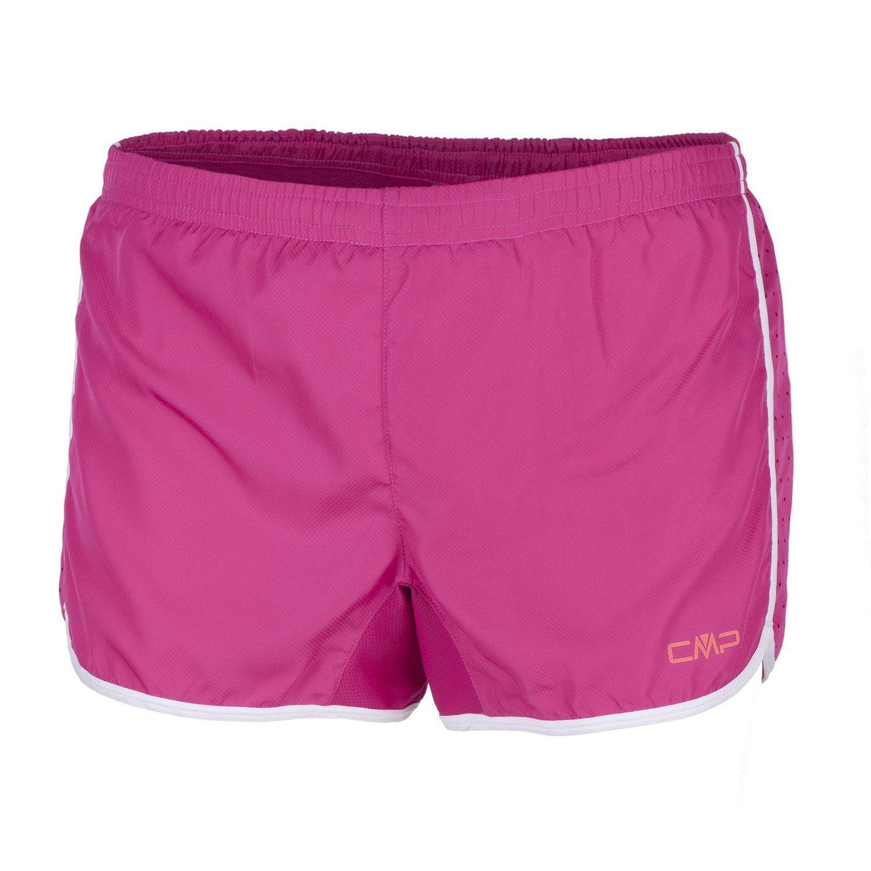 CMP Pantaloncini da Corsa Pantaloni funzionali fucsia Maglia Stretch Dryfunction