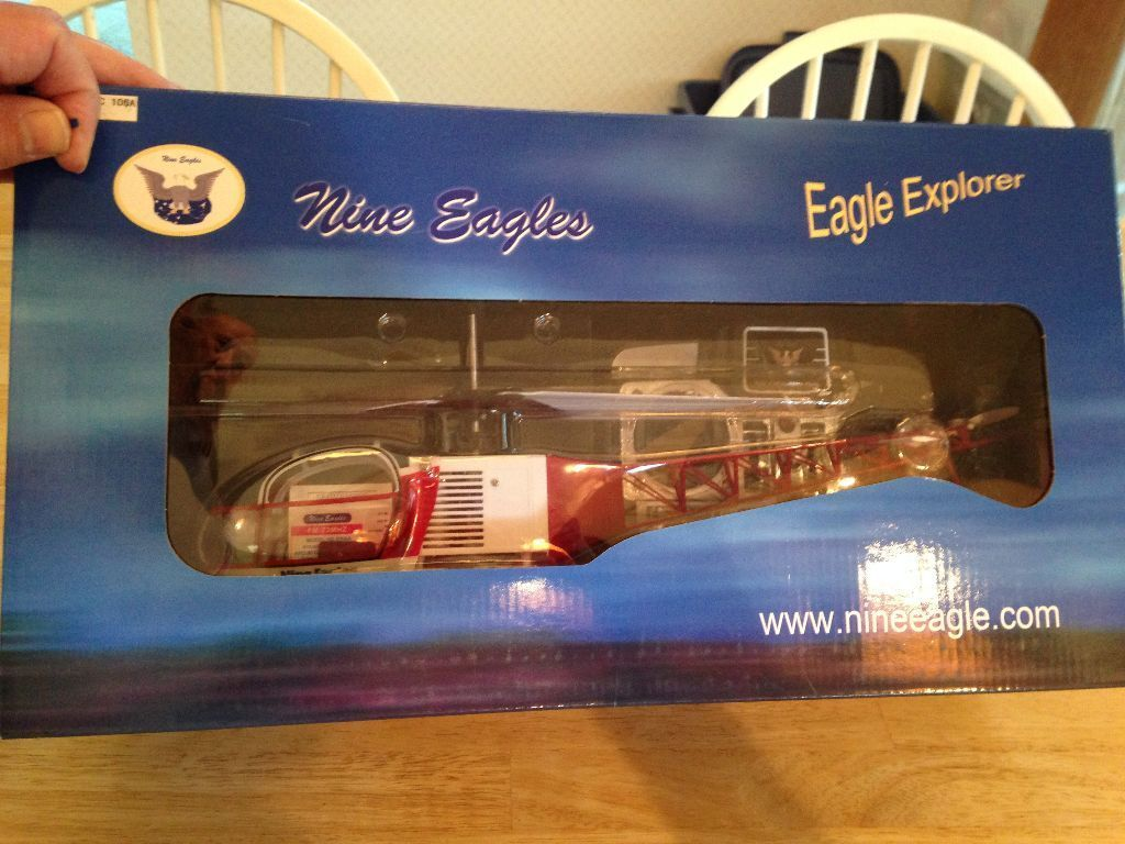 nuovo R C Nine Eagles - Eagle  Explorer Helicopter RTF Version  grandi risparmi