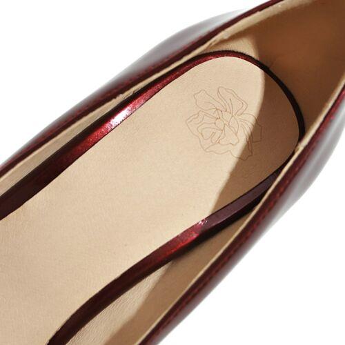 Womens Clubwear Stiletto Shoes High Heel Patent Leather Round Toe Platform Pumps