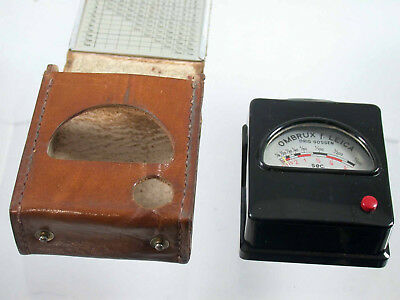 Ernst Gossen Ombrux F Leica Light Exposure Meter Belichtungsmesser Selten Vintage /18 Belichtungsmesser