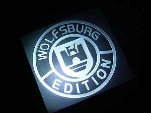HIGH-QUALITY-VW-WOLFSBURG-METAL-STICKER-2PCS-SET