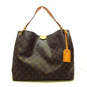 Auth LOUIS VUITTON Graceful MM M43703 Monogram Canvas MI1138 Shoulder Bag