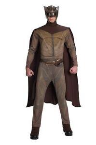 Watchmen-Superman-Men-039-s-Adult-Mask-Muscle-Chest-Night-Owl-Halloween-Costume-L