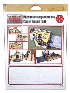 Xolk-Country-House-in-Ruins-Miniature-Wargaming-15mm-Scale-New