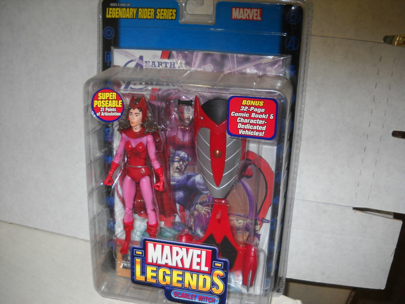 Figuras De Marvel Legends-SCochelet Witch