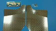 YAMAHA RHINO DIAMOND PLATE FLOOR BOARDS 2004 UP left and right and pop rivets