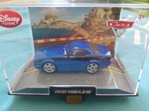 Disney Cars 2 ROD TORQUE REDLINE Collector/'s Case Disney Store