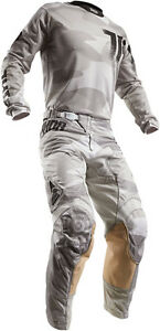 Thor-Pulse-Air-Covert-MX-Enduro-MTB-BMX-Combo-Hose-Shirt-Fox-Camo-Sand-Motocross