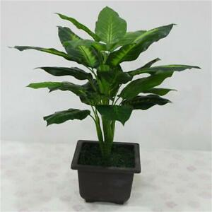 Image Is Loading PRO Artificial Potted Plants Ever Green Indoor Plant