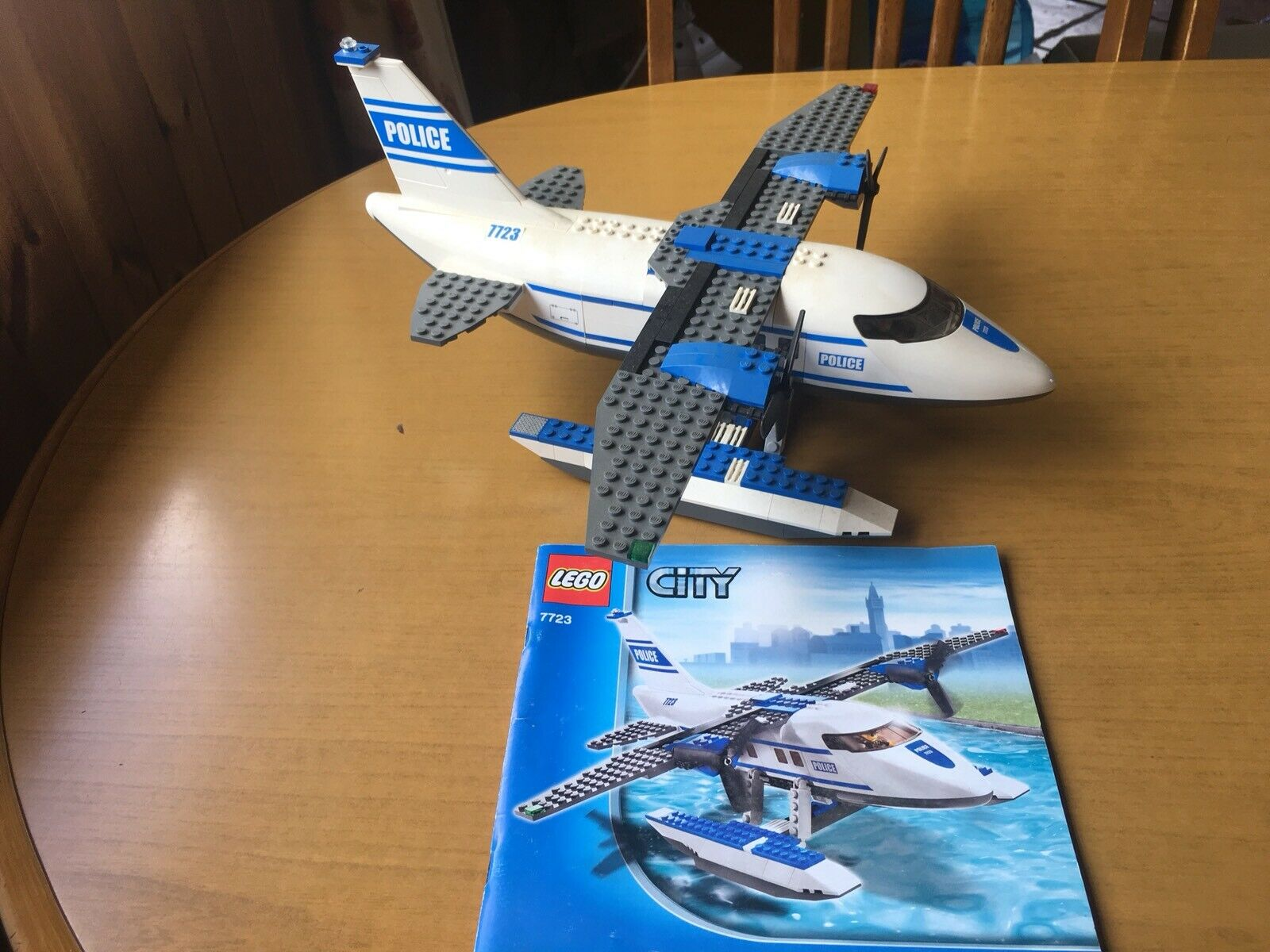 Lego City (7723) Police Pontoon Plane. Excellent Condition