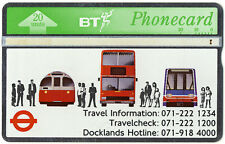 Phonecard british telecom | London Transport