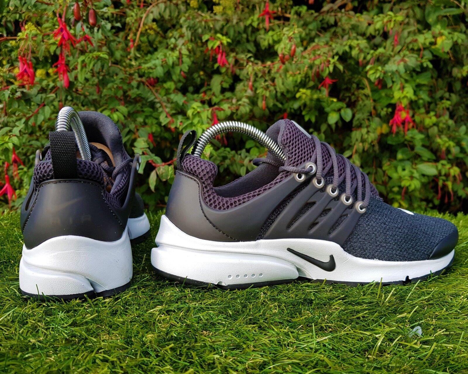 BNWB & Genuine Nike Nike Nike Air Presto ® Antracite Nero Essential scarpe da ginnastica | Aspetto Attraente  | Scolaro/Signora Scarpa  f341cf