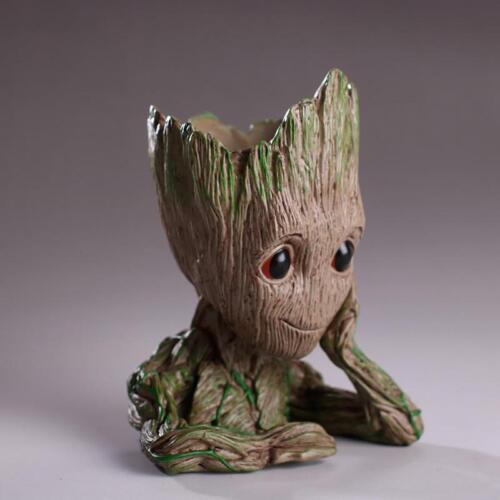 Baby Groot Flowerpot Flower Pot Planter Cute Cartoon Pen Holder Kids Toy Tree