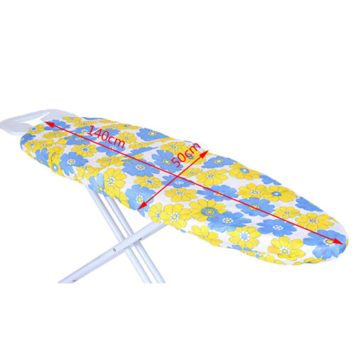 140*50CM ultra thick heat retaining felt ironing iron board cover easy fitted 9U