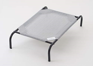 XXL-Dog-Bed-Elevated-Raised-Pet-Cot-Indoor-Outdoor-Steel-Frame-Knitted-Fabric-US
