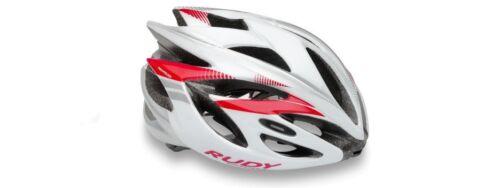 Casco Bici RUDY PROJECT RUSH White//Rubin Shiny//HELMET RUSH RUDY PROJECT WHITE//RU