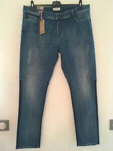 Jeans Femme Lee Cooper Jaxy 6921 Bleu Mix Brushed Taille 44 FR ... 558d3664201f