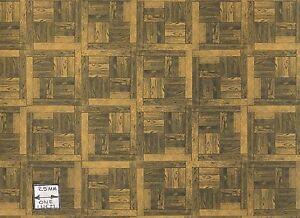 Flooring-Sheet-Parquet-Light-Wood-dollhouse-miniature-paper-floor-1pc-RPPAR2
