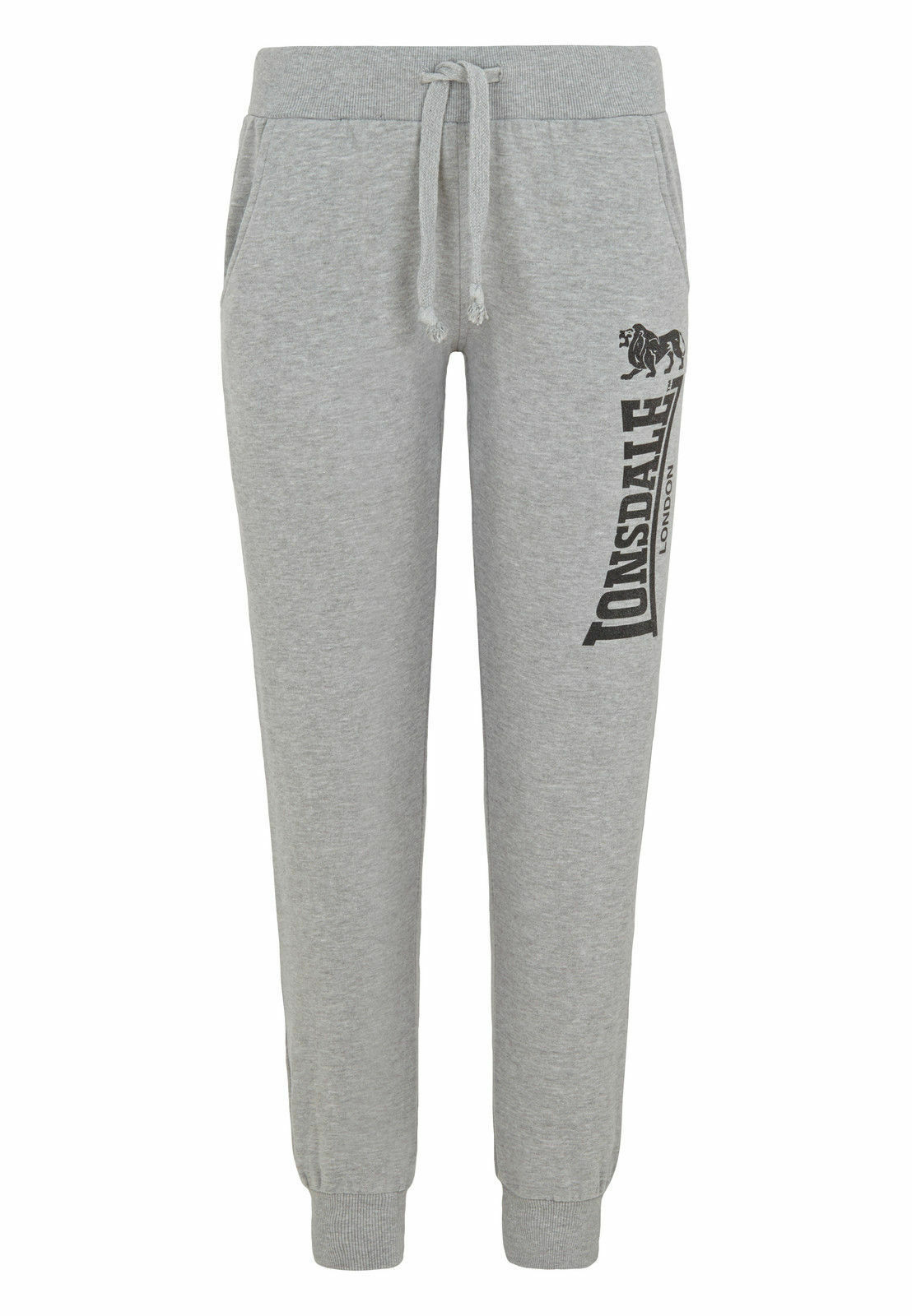 Lonsdale Thurso Jogginghose Ladies Jogging Pants Marl Grey grey