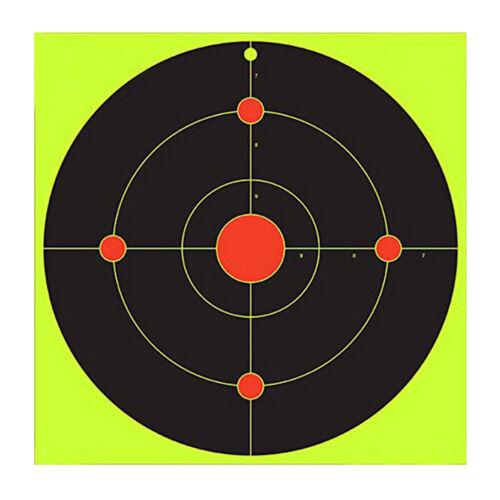 "20 Stück Shooting Splatter Target Paper Klebestifte 4 Kreise 8 /"""