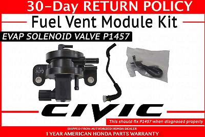 Warranty New Genuine Honda Civic CRV Emission Fuel Vent Module