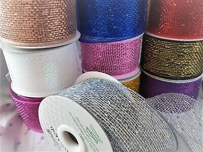 Decorative Hessian Ribbon By Eleganza Available In 10 Designs