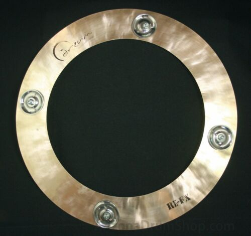 NEW REFX-CC14 Dream Cymbals RE-FX 14 Scotty Pellegrom Crop Circle w//Jingles