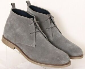 joseph abboud lucca gray laceup casual suede desert