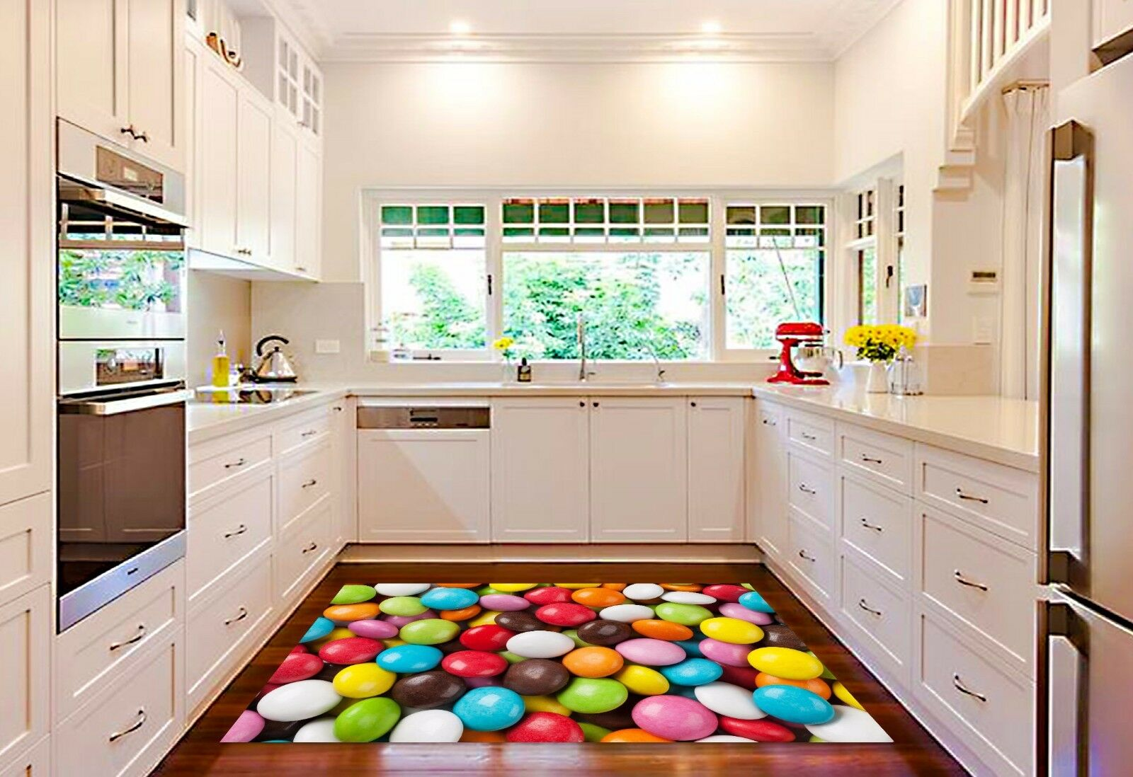 3D Rainbow Candy Candy Candy 845 Kitchen Mat Floor Murals Wall Print Wall Deco UK Carly 7322e6