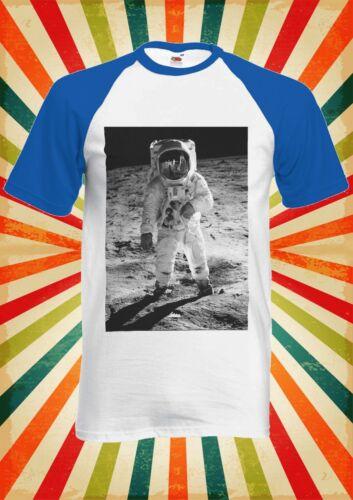 Spaceman Astronaut Space Cool Men Women Long Short Sleeve Baseball T Shirt 1027