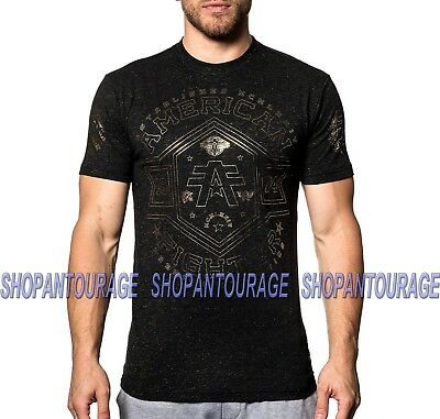 American Fighter Macmurray FM7638 New Men`s Sport Graphic T-shirt By Affliction