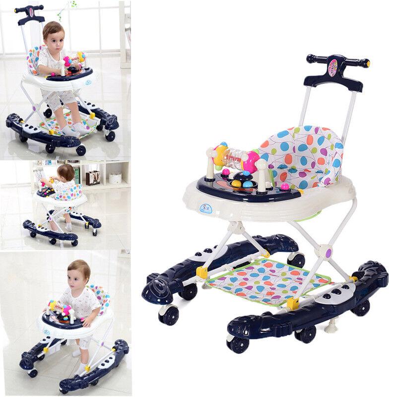 5in1 Lauflernhilfe Gehfrei Laufhilfe Baby Walker Gehhilfe Lauflernwagen Umbaubar