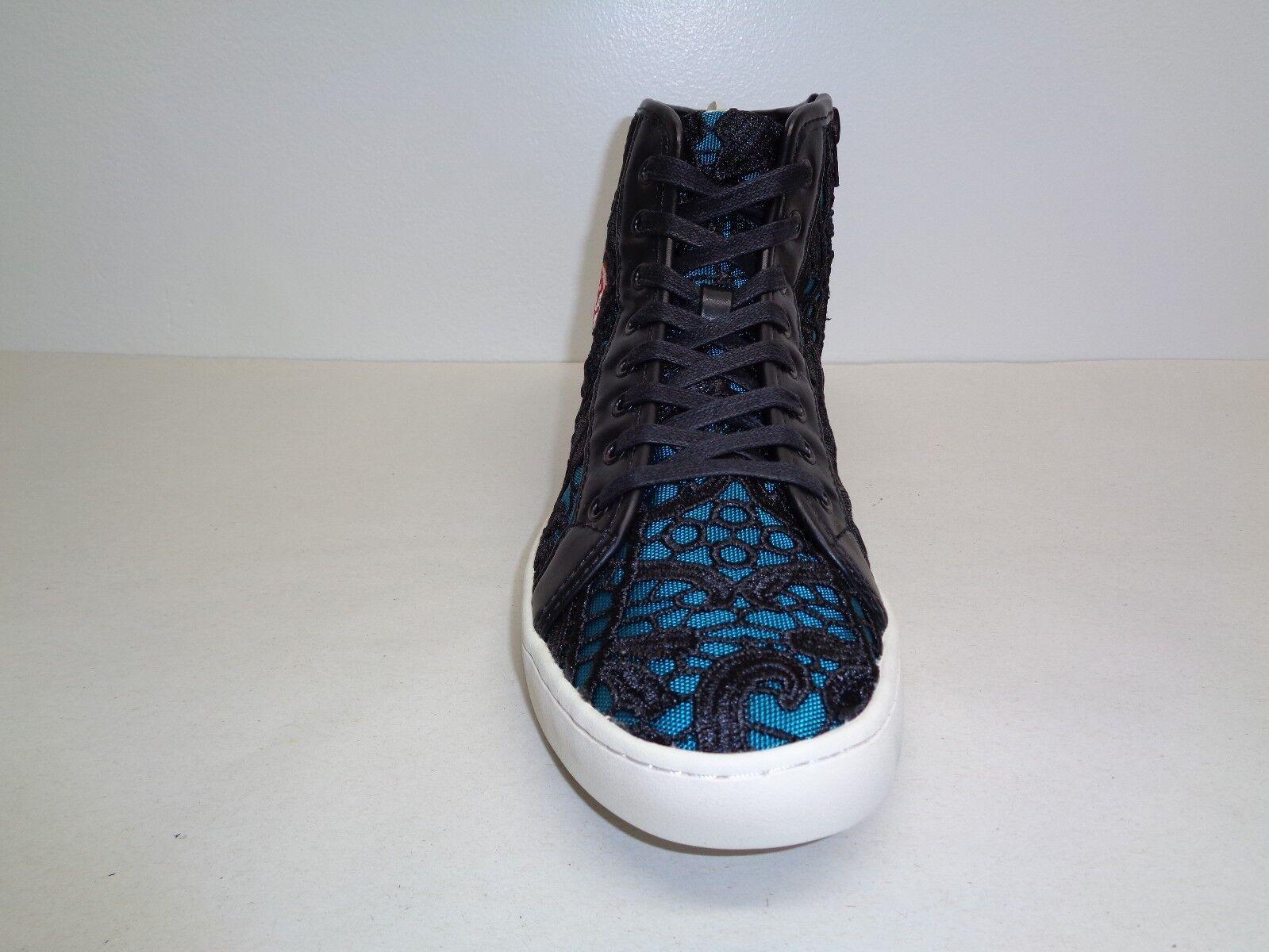 4693ca0af69 ... Steve Madden Size 8 M ASHBY Floral Black Fashion Fashion Fashion Hi Top Sneakers  New Mens ...