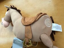 "NWT DISNEY STORE TOY STORY 3  BULLSEYE 17"" WOODY HORSE PLUSH STUFFED Doll Toy"
