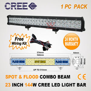 23-INCH-144W-CREE-LED-SPOT-FLOOD-OFFROAD-DRIVING-WORK-LIGHT-BAR-D-120W-126W-180W