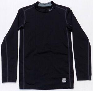 nike pro combat shirt Youth Large Black